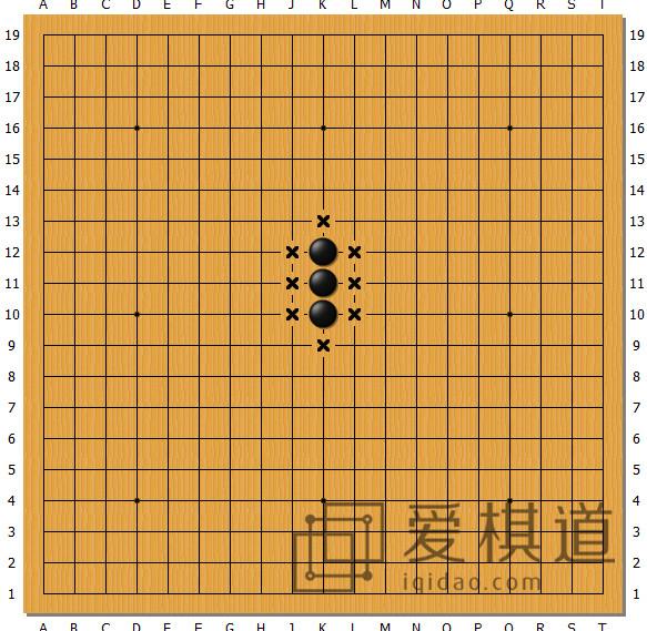 围棋棋盘交叉点_围棋术语 | 棋盘位置及基本术语 - 爱棋道